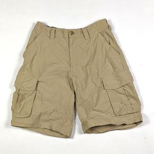 REI Co-op Classic Sahara Cargo Size S Khaki Shorts